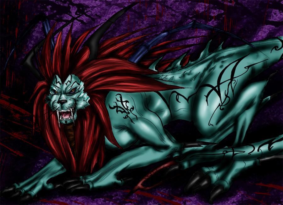 Zionth - Demon of the Eternal Blizzard by Dark_Shiva
