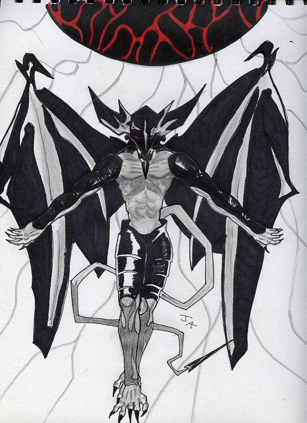 Dark Messenger by Dark_blue