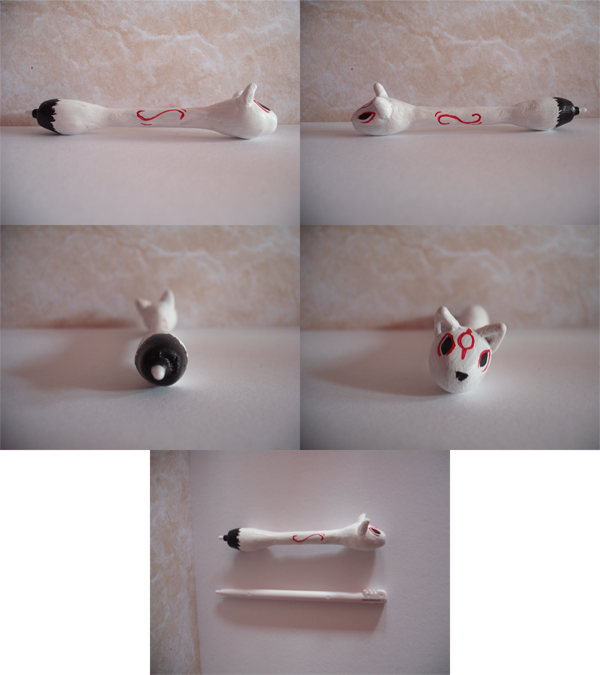 Okami custome stylus by Darkpheonixchild