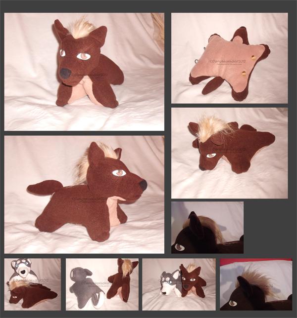 Ginga Nagareboshi Gin Koga dog Pillow pet by Darkpheonixchild