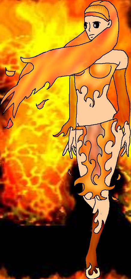fire princess by Darkprincess119