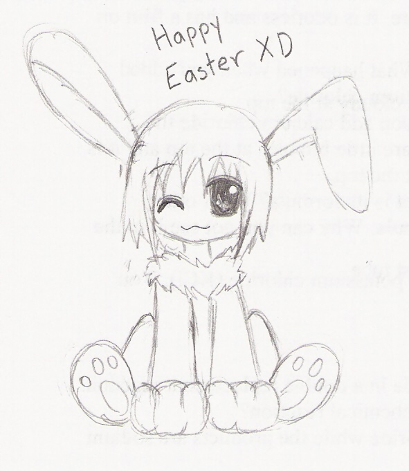 Happy Easter XD by Darksideofme