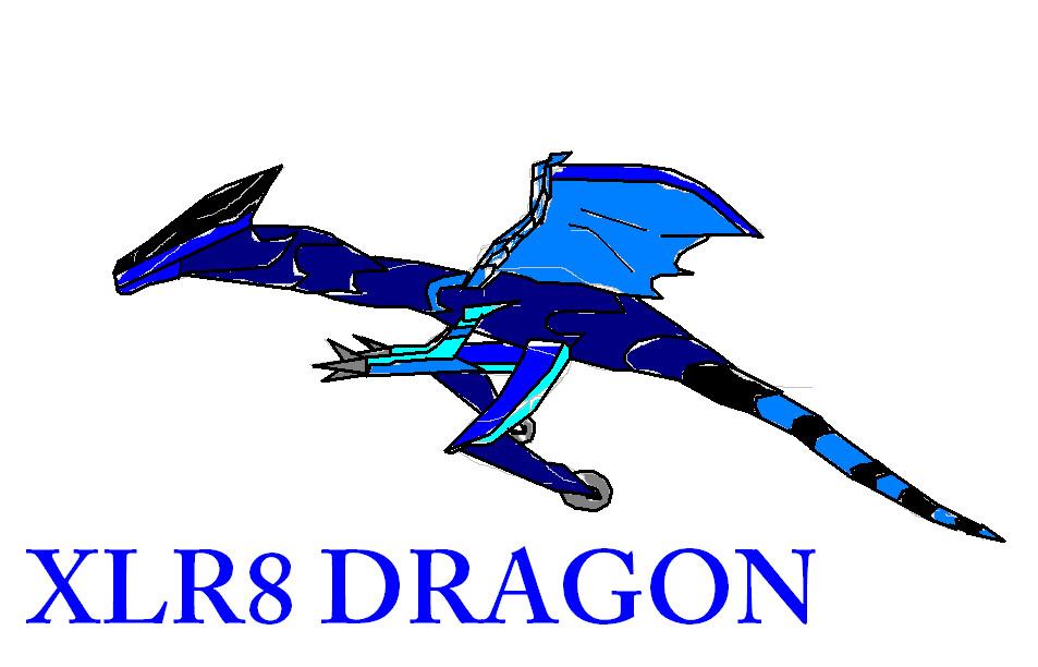 xlr8 dragon by Dazer