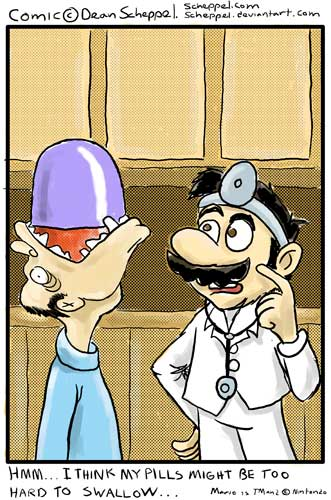 Dr. Mario's Pill by Deadauron