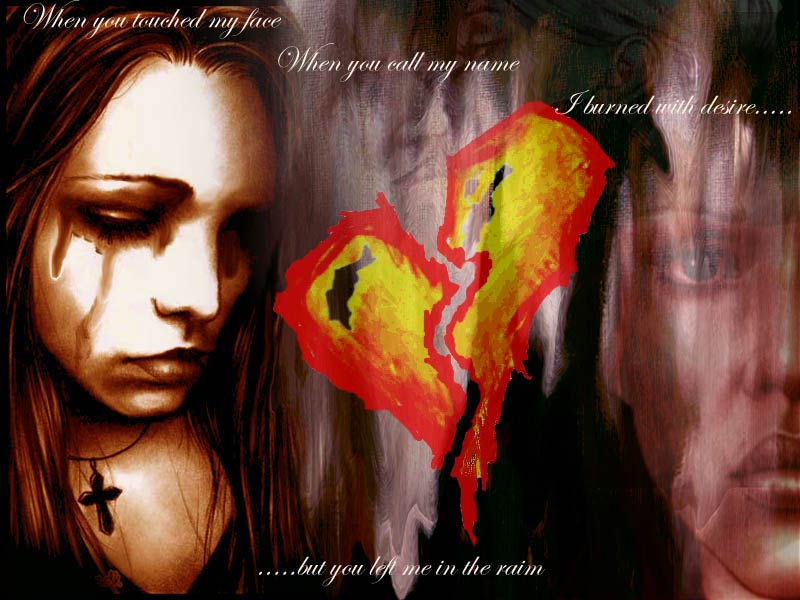 You loved me. so y did u leave? by Death-Sketcher