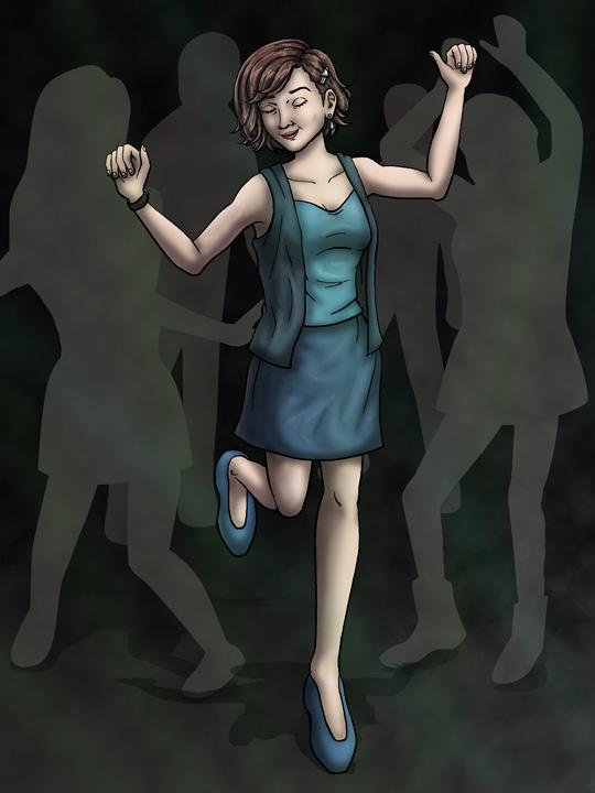 Jill Valentine's Night Off by DeathbyChiasmus