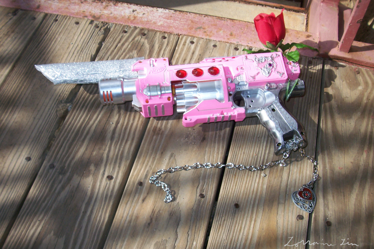 Nerf Gunblade : The Nyxis by Defiance