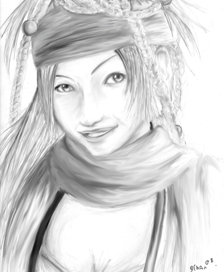 Rikku by DeidaraChan17