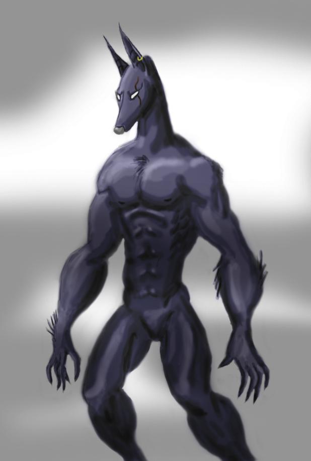 Werehound by DemonicAngel