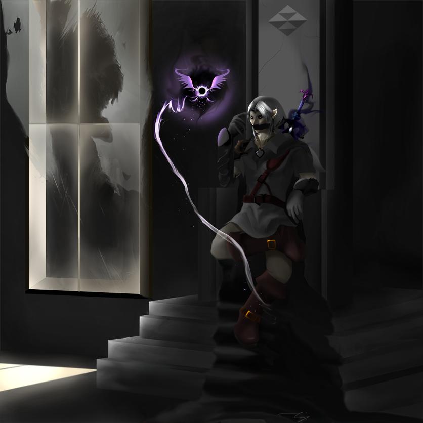Dark Link by Descent