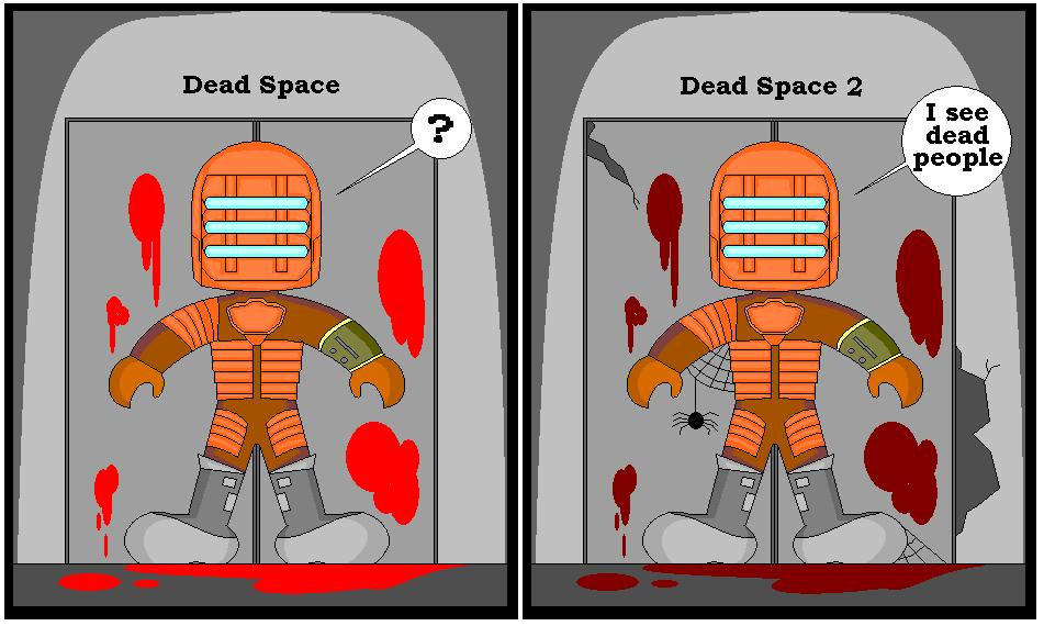 Dead space serie by DevilmayCry1