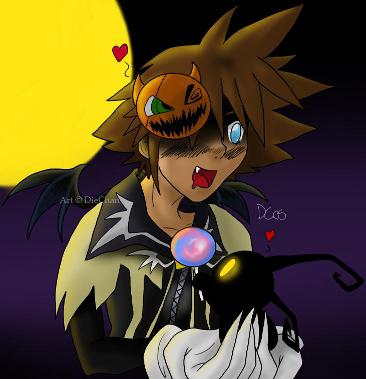 Happy Halloween Sora by DieChan