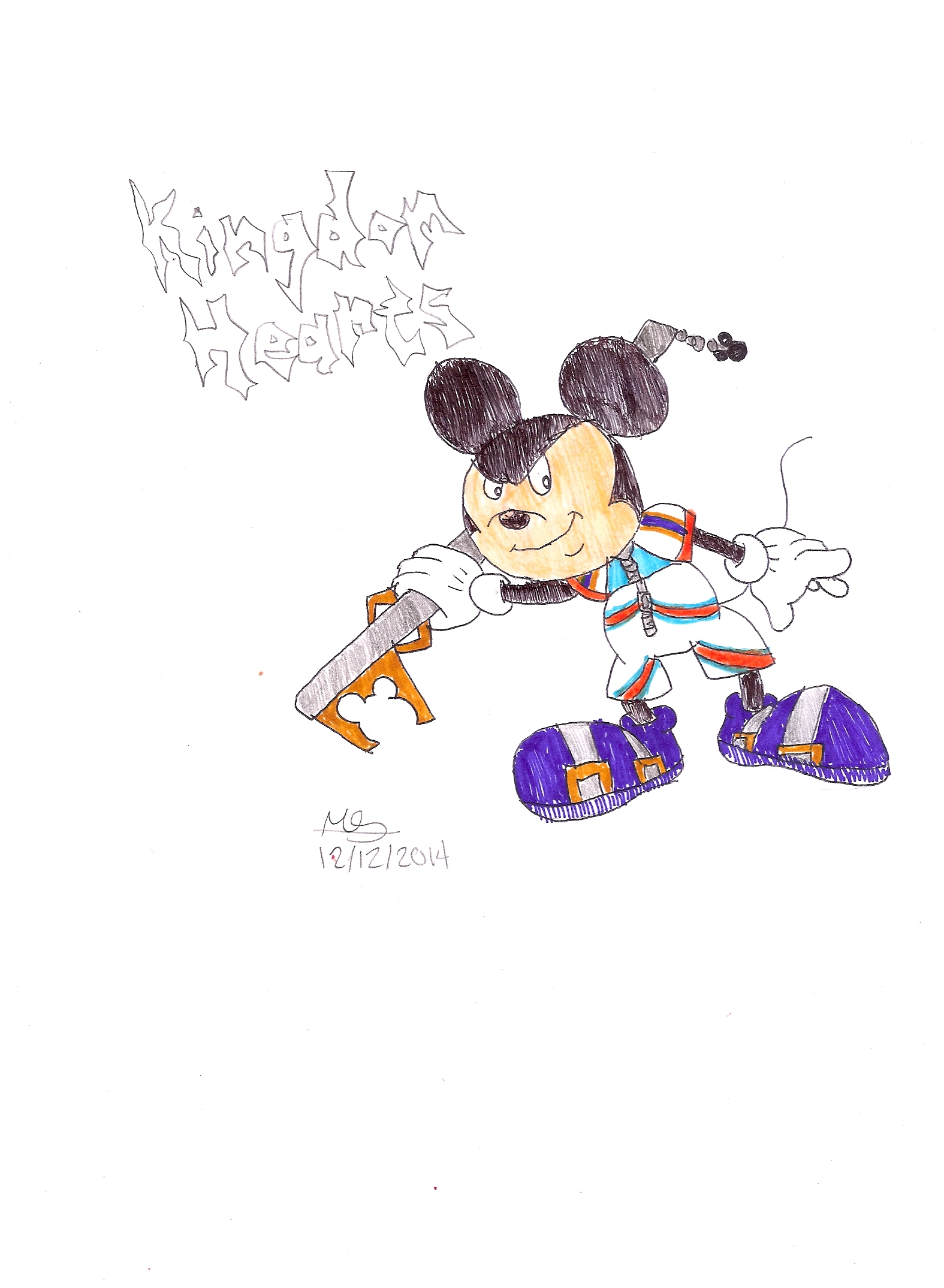 Kingdom Hearts Mickey by DisneyFangirl