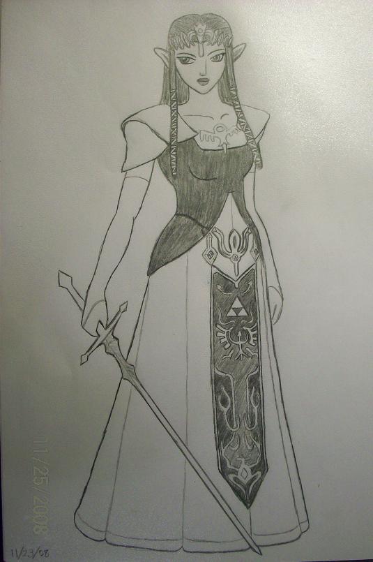 Zelda by DistantDragon
