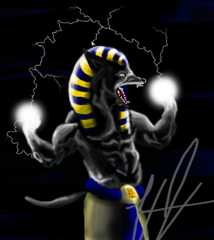 Wrath of Anubis by DivineWolf