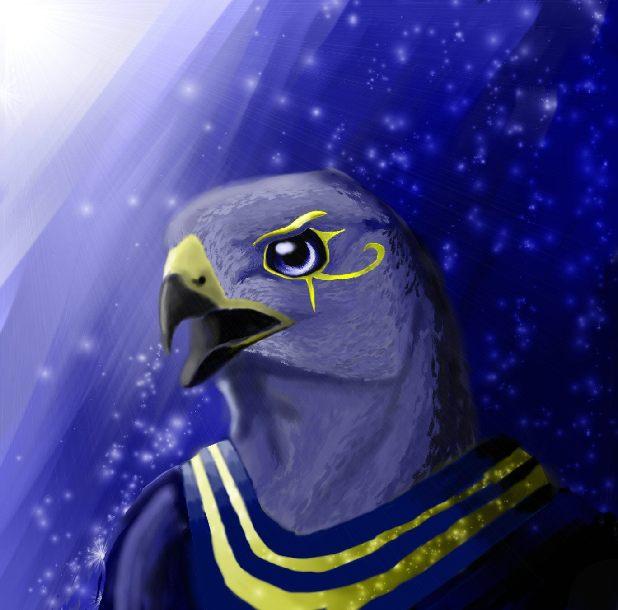 Horus by DivineWolf