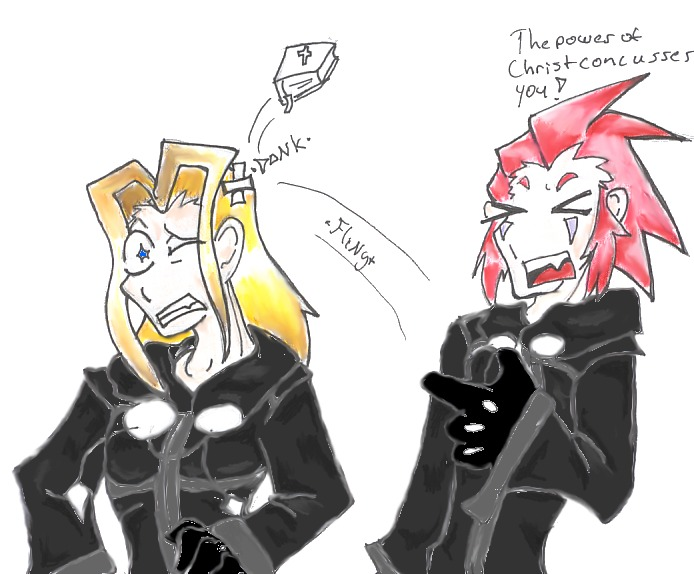 Axel is Crazy by DoctorDaiquri