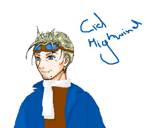 Mr Cid Highwind by DoctorWhoFanatic
