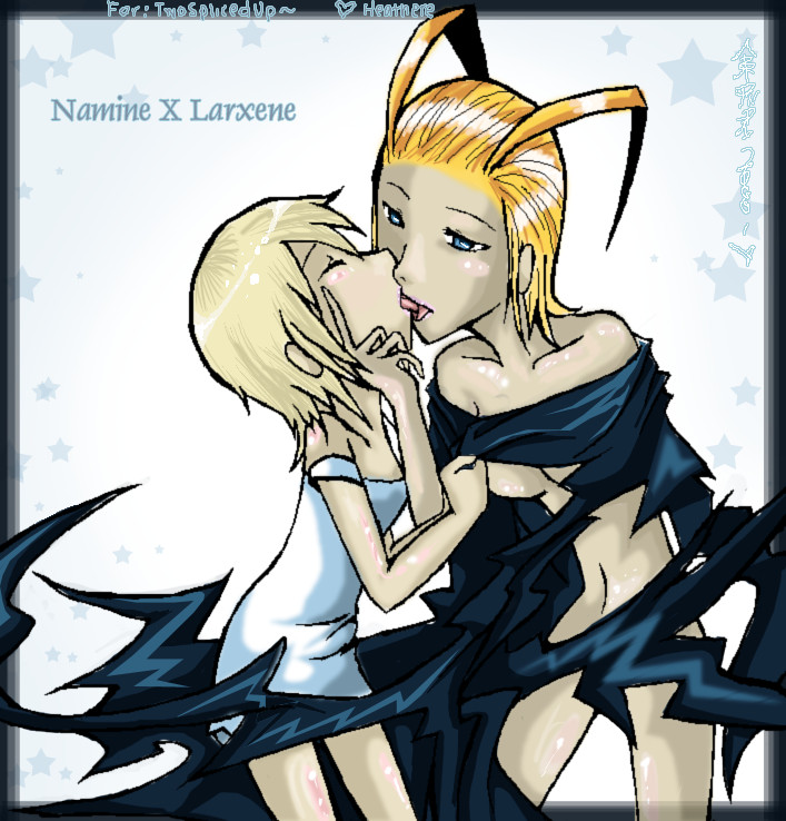 Larxene X Namine by Doors