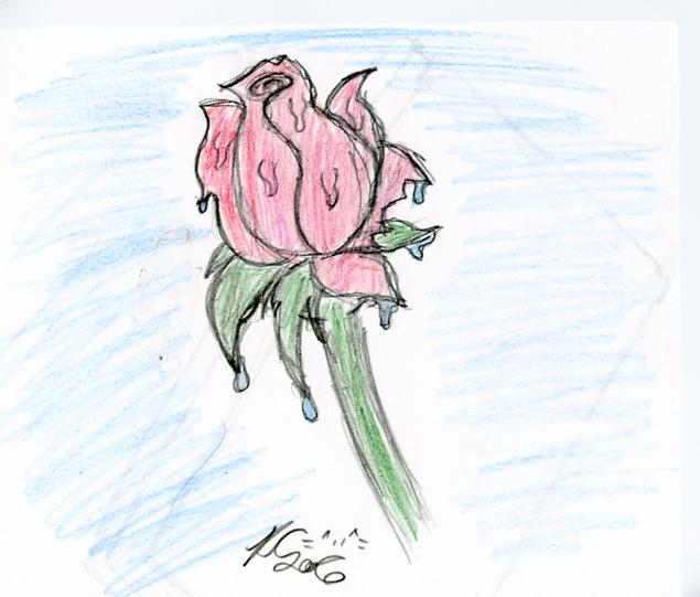 Dripping Rose by Dorky_Otaku_Fan_Girl