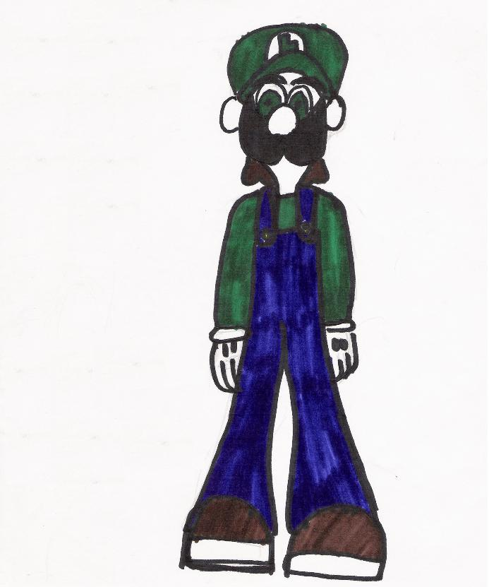 Luigi by DrWorm2000