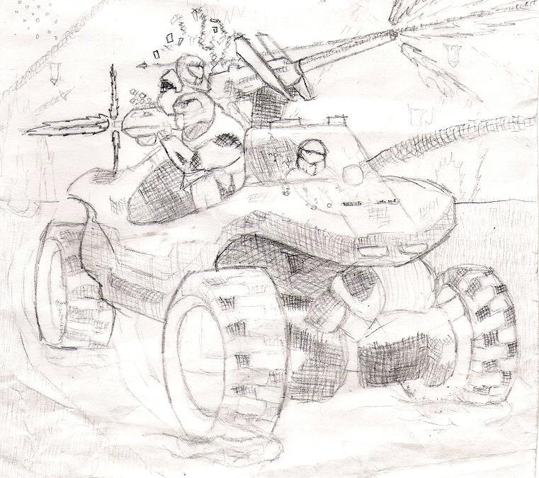 Warthog by Drache