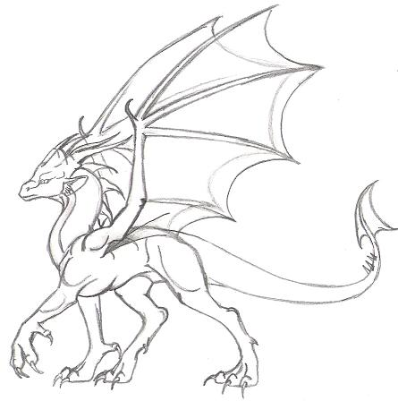 Dragon Design#1 by Dracoanimegurl