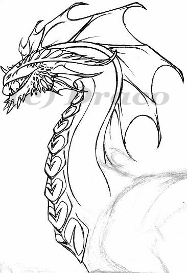 New Dragon Style (head) WIP by Dracoanimegurl