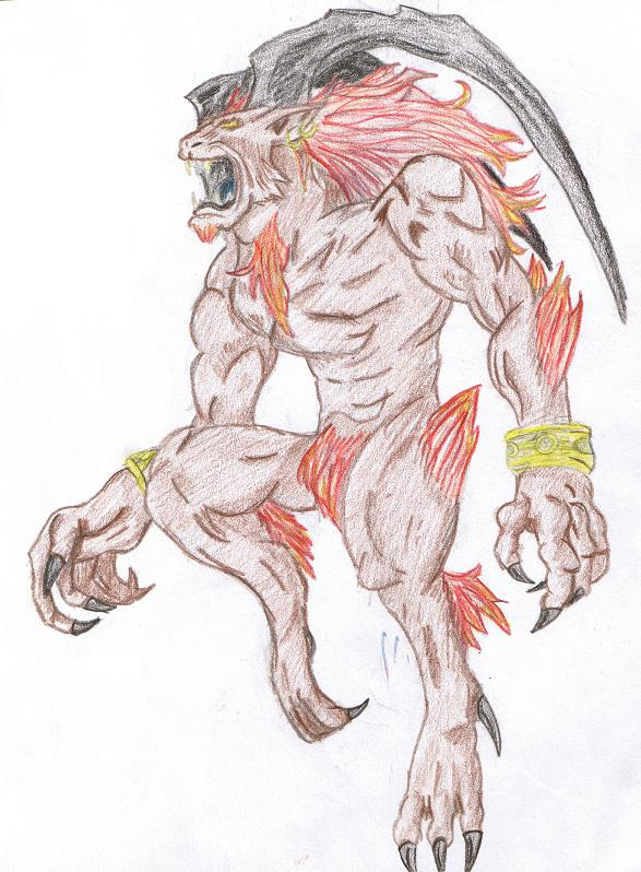 Ifrit coloured by Dracomaster