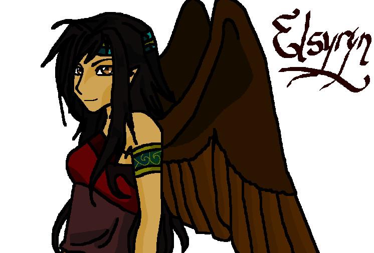 Elsyryn by Draconidema_Azure