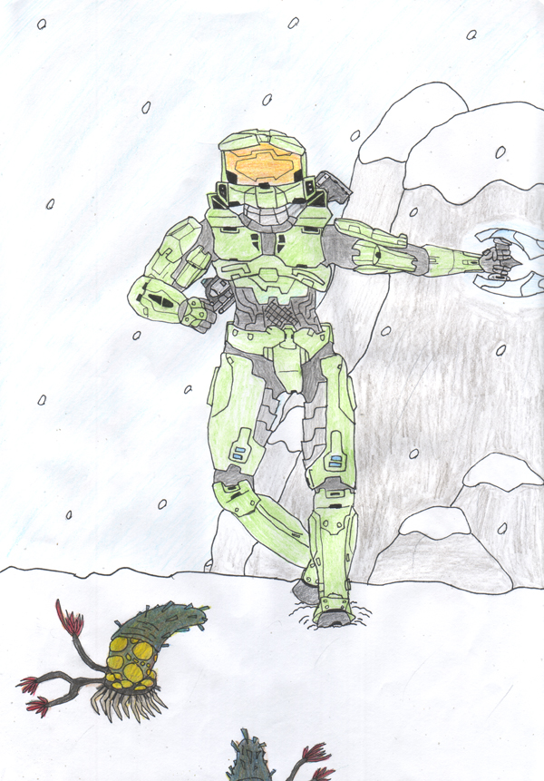 Master Chief by Dragonia