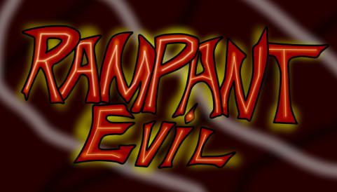 Rampant Evil Doujinshi Logo by DragonsPeak30