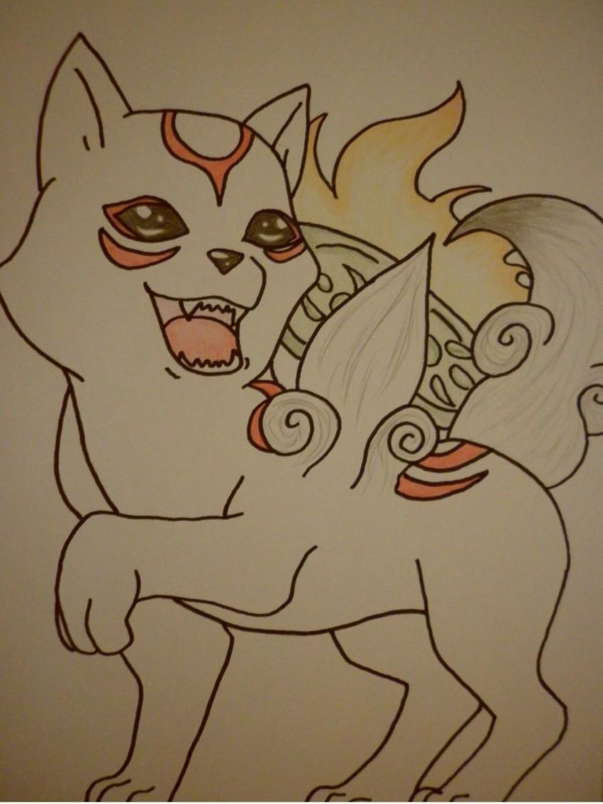 Chibiterasu by Dragonsama23