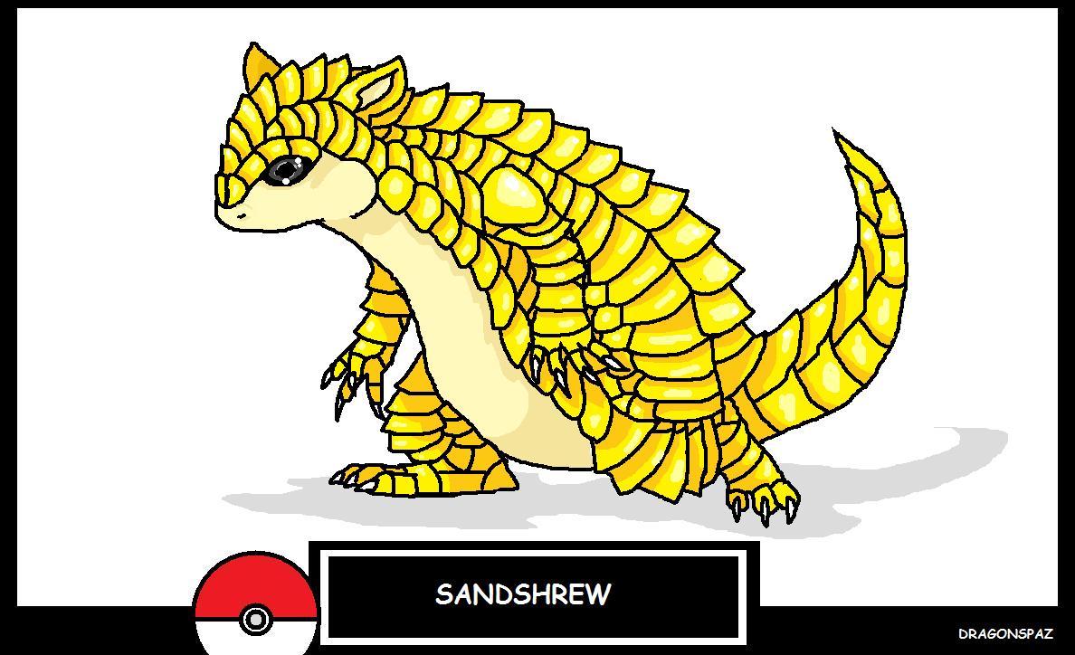 shandshrew by Dragonspaz