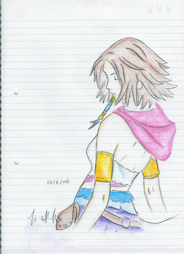 Yuna by Drakengardfan