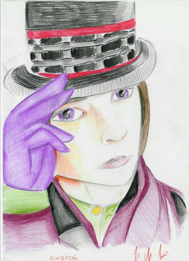 Mr.Wonka by Drakengardfan