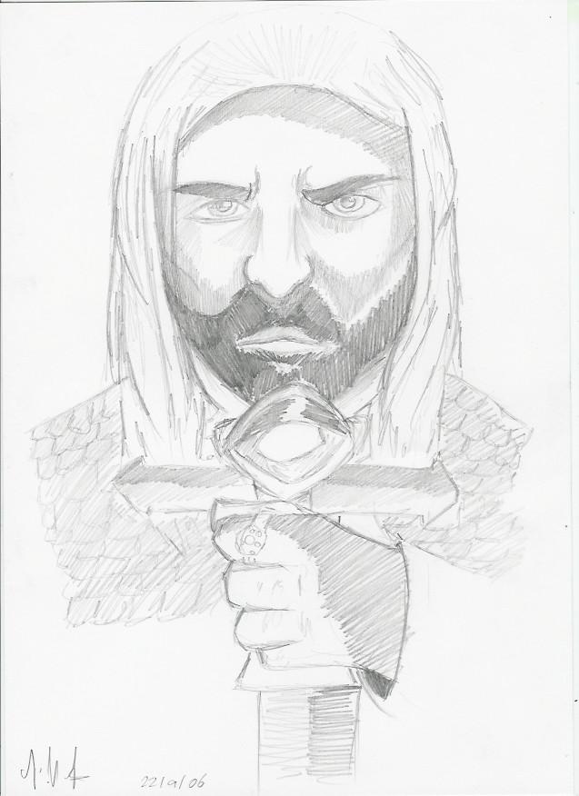 LOTR aragorn by Drakengardfan