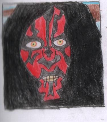 Darth Maul by Drawingmadrickardo