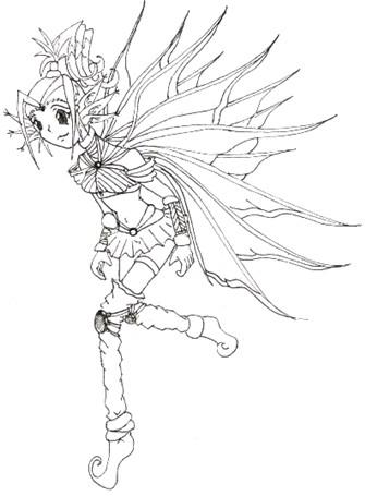 Fairly Annoying Fairy!^^ for  -Namine-  !^^ by DreamOfFire