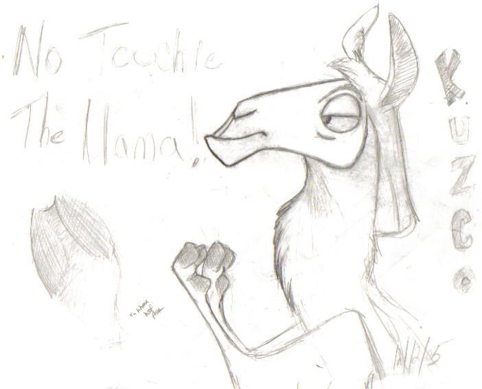 Kuzco fanart by DrewTheWolf