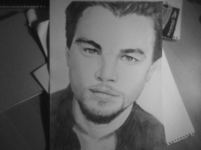 Leonardo DiCaprio Drawing by Duggano7