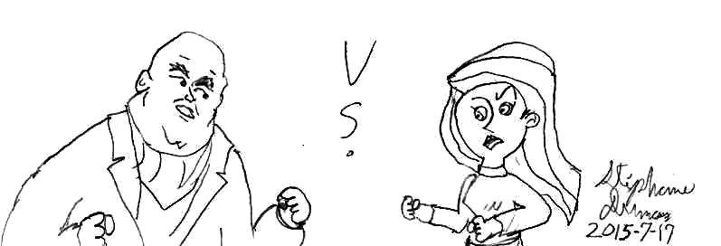 Kim Possible vs Kingpin by Dumas