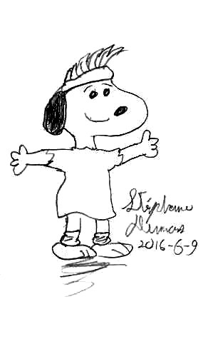 Flashbeagle Snoopy by Dumas