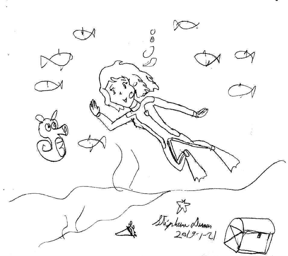 Aqua-Serena freediving by Dumas