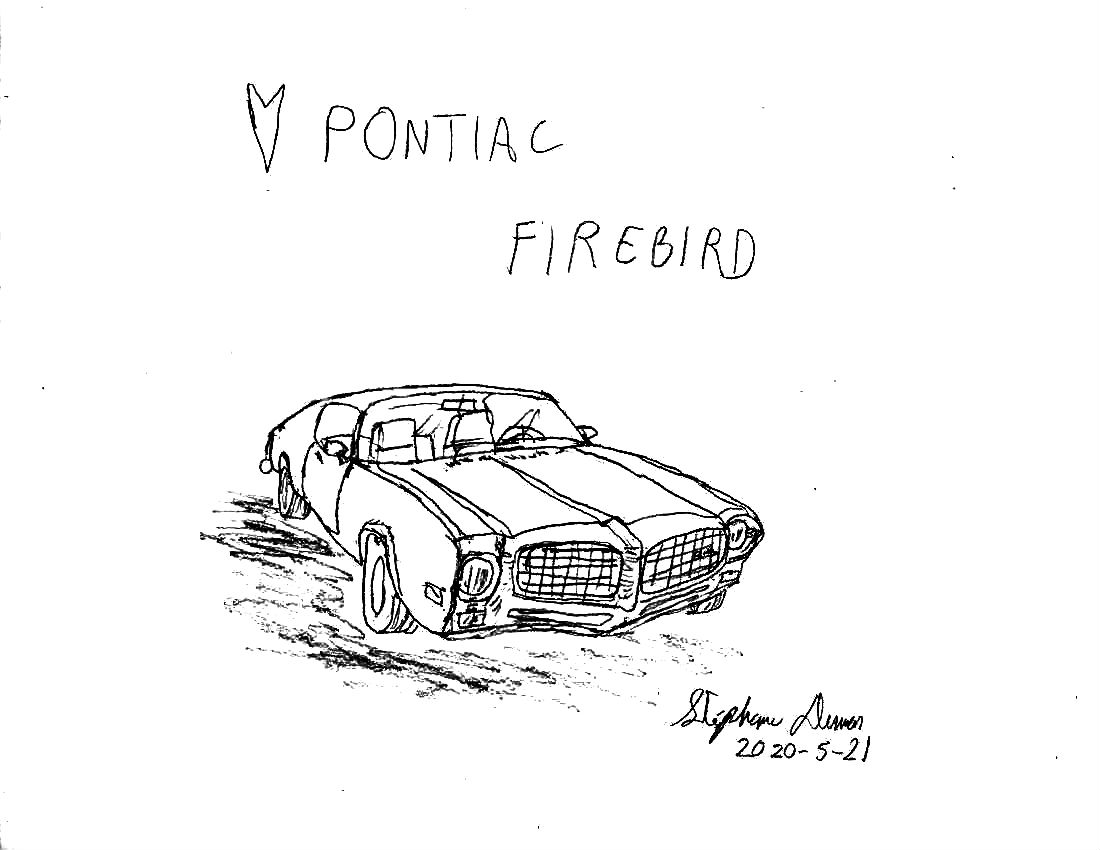 1973 Pontiac Firebird by Dumas