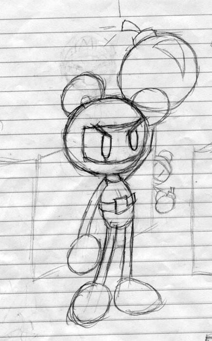 Bomberman by Dynablade_EX