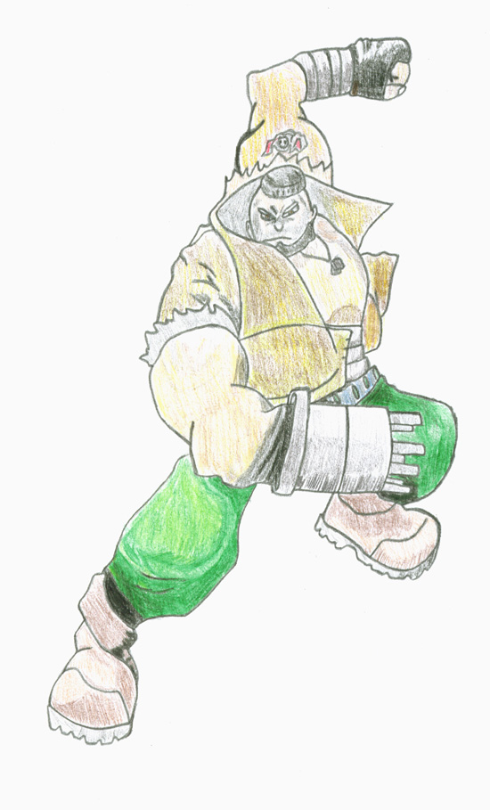 Barret by dabiggoof