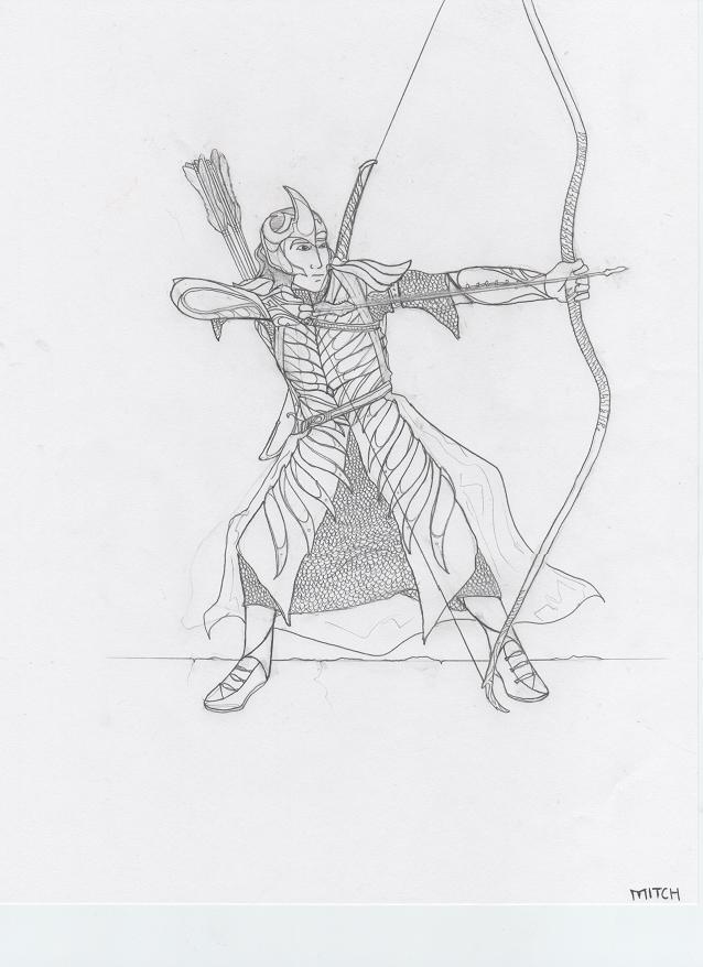 Haldirs Elven Warriors by darkprince00