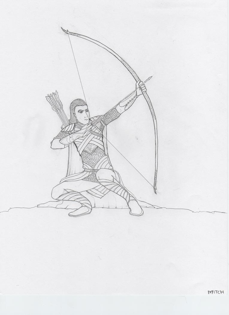 1st Age Elve by darkprince00