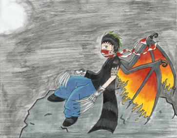 Wings of Flame by darkravenofchaos
